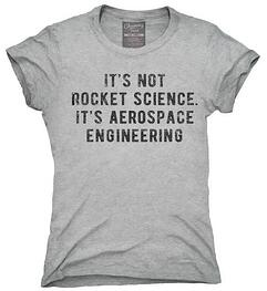 Aerospace engineer tshirt