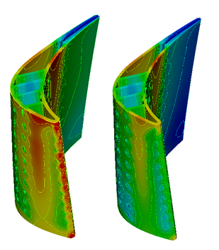 CTAADS CAE Software for Blade Cooling