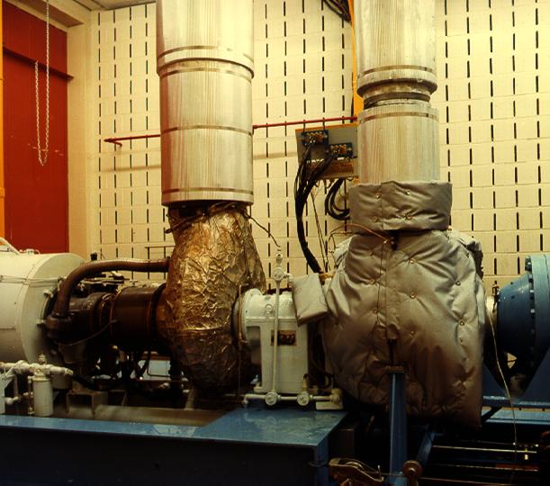 Compressor test rig