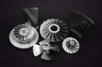 Family of parts designed and manufactured by Concepts NREC