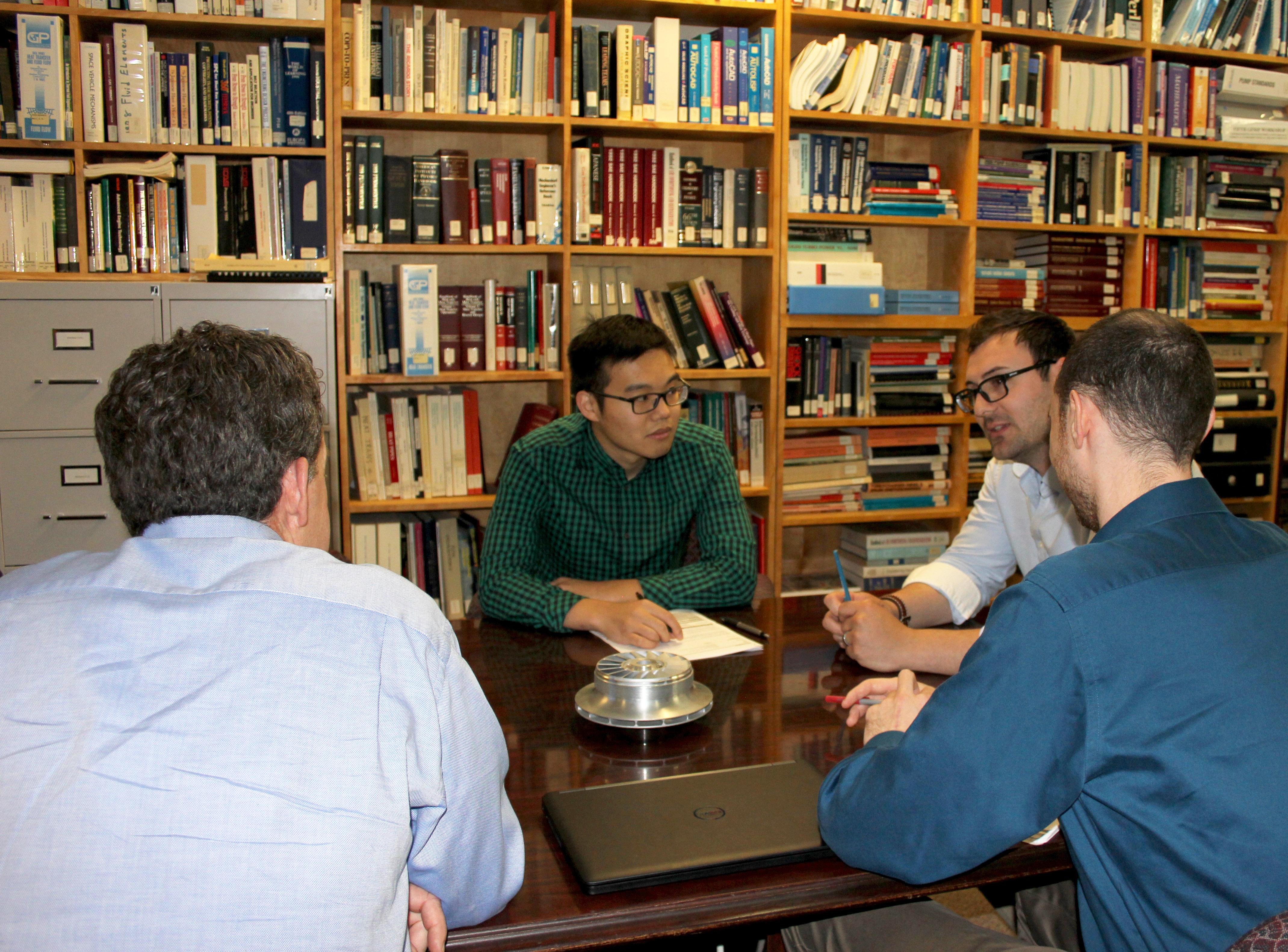 Engineers talking at Concepts NREC