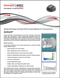 AxCent Data Sheet from Concepts NREC