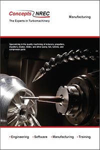 Manufacturing brochure from Concepts NREC