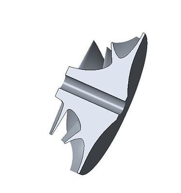 Impeller with bore