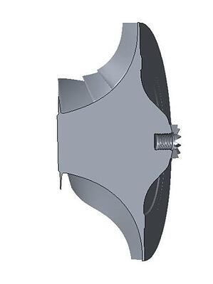 Impeller without bore