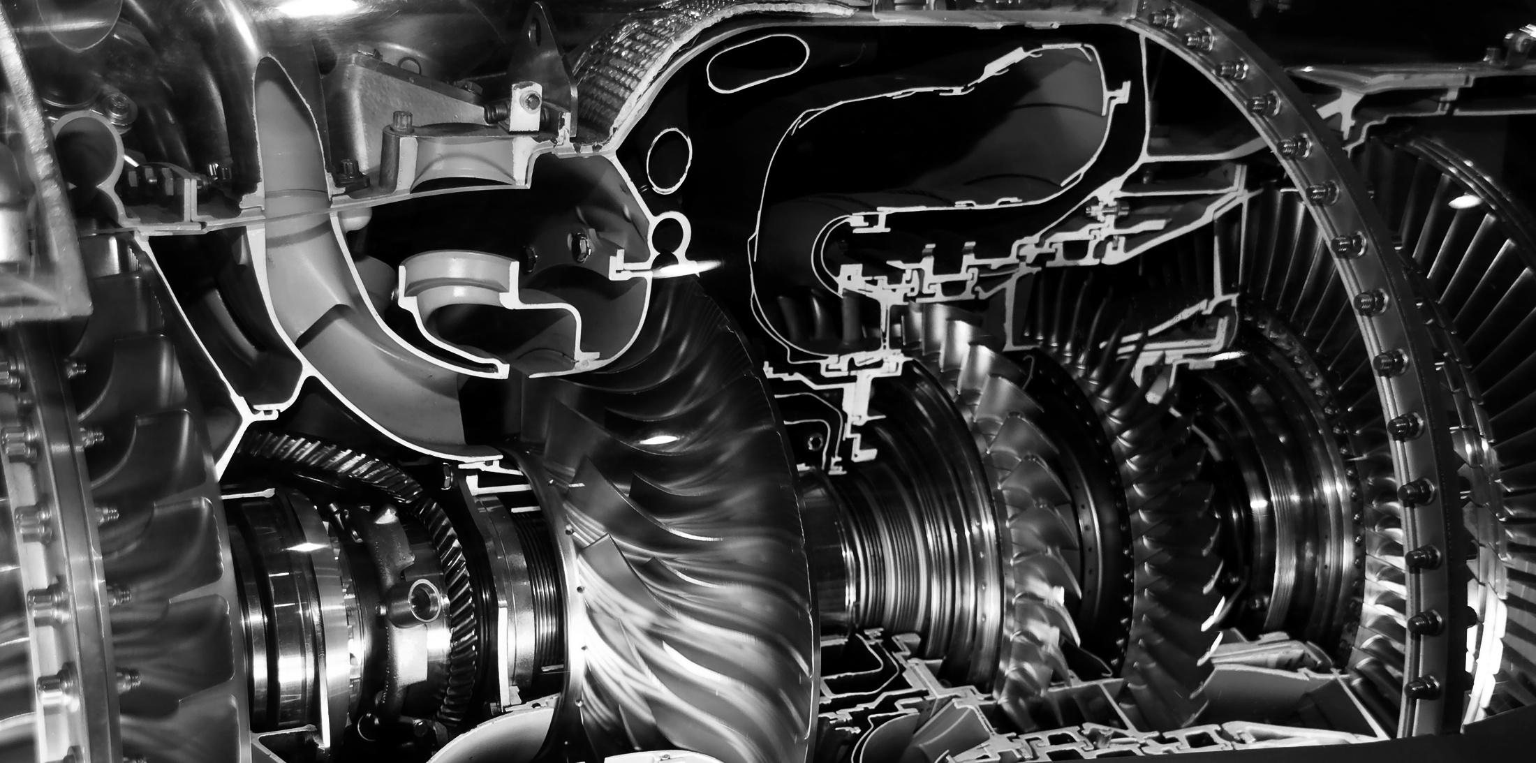 Jet Engine Large BW