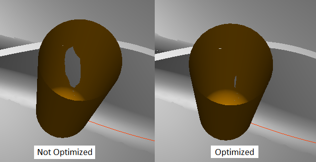 MAX-5 Deviation Reduction for Flank Milling