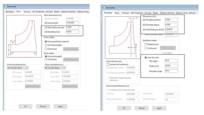 Mechanical Design Variables from Pushbutton FEA