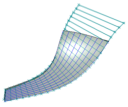 Multisection definition of trimmed ruled surface- MAX-PAC