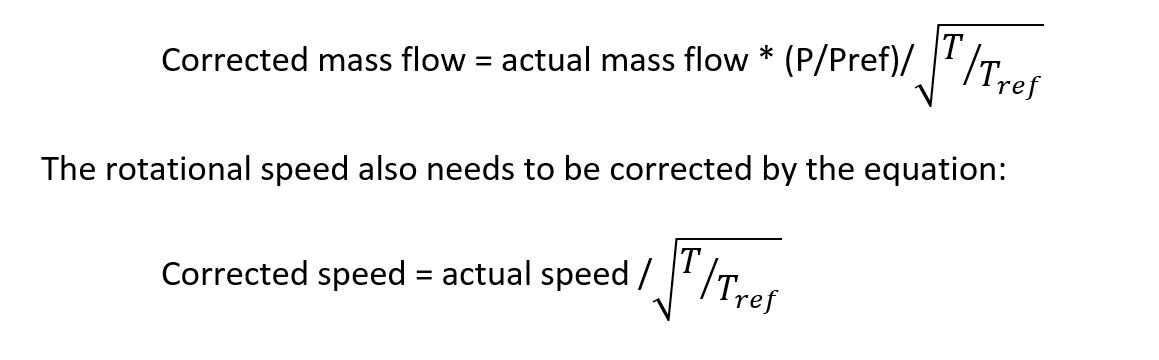 Normalizing Compressor with Speed of Sound Equations