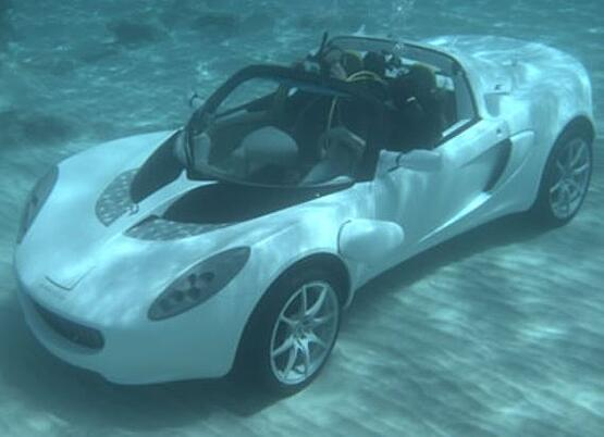 Submarine SPort Car_water