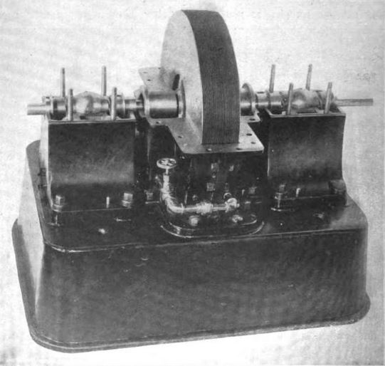 Tesla Turbine without cover