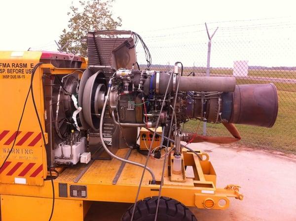 V35 dynamometer testing an Apache Engine