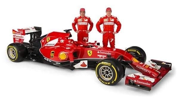 ferrari-f14 F1
