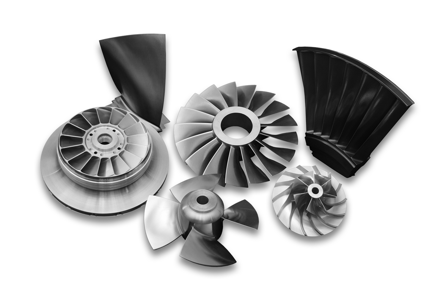 Examples of Parts Designed and Manufactured by Concepts NREC